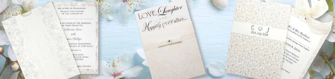 Cream Wedding Invitations