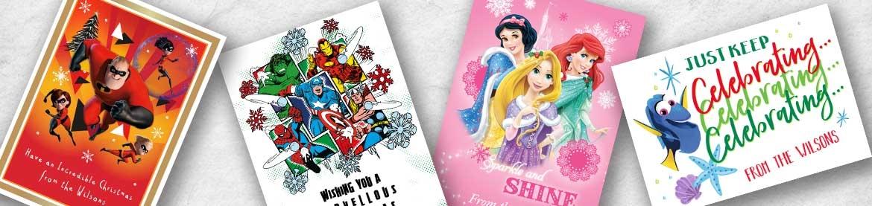 Disney Christmas Card Packs