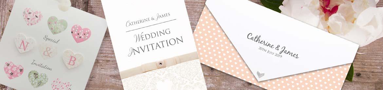 Peach Wedding Invitations