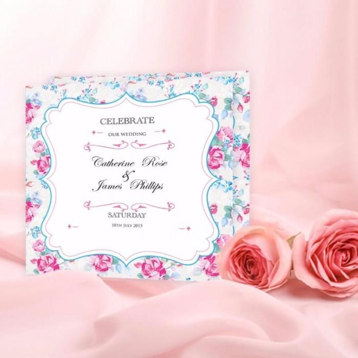 Afternoon Tea Wedding Invitation