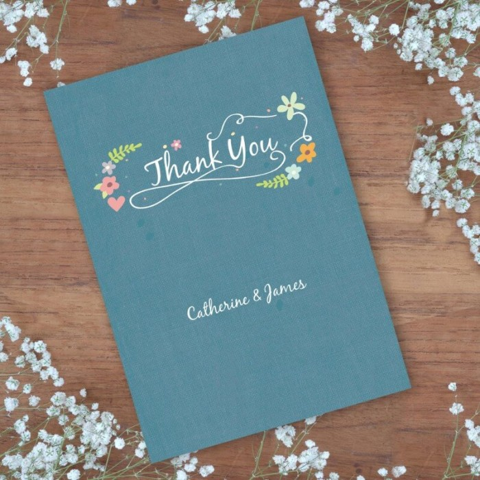 Book of Love Thank You Card