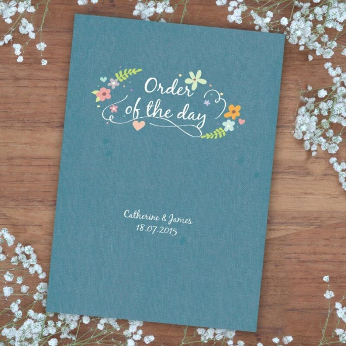 Book of Love Order of Service