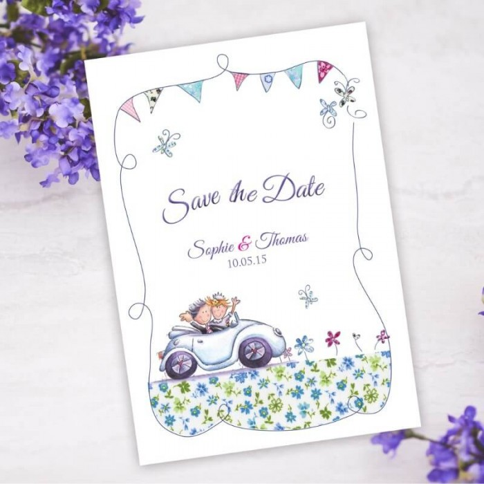 Our Big Day Save the Date Card