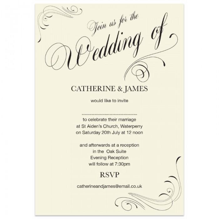 Email Wedding Invitation: Paper Themes Wedding Invites
