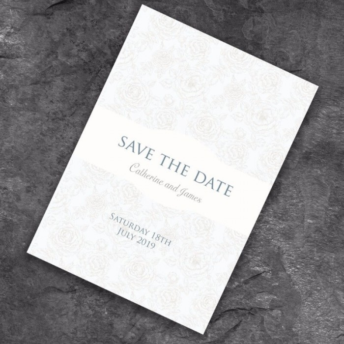 Classical Save the Date Card