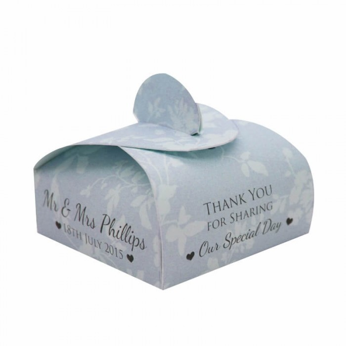 Blue Cupid Favour Box - Pack of 12