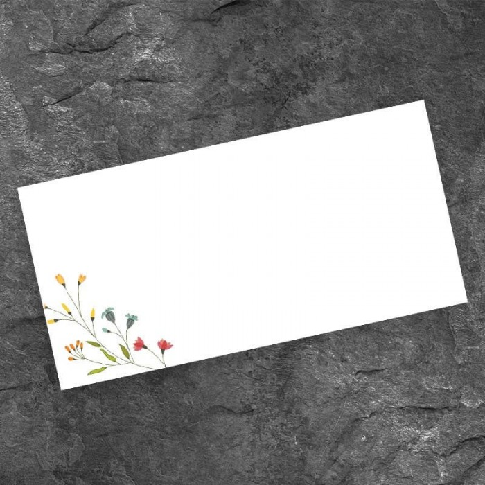 Delicate Wedding Place Card