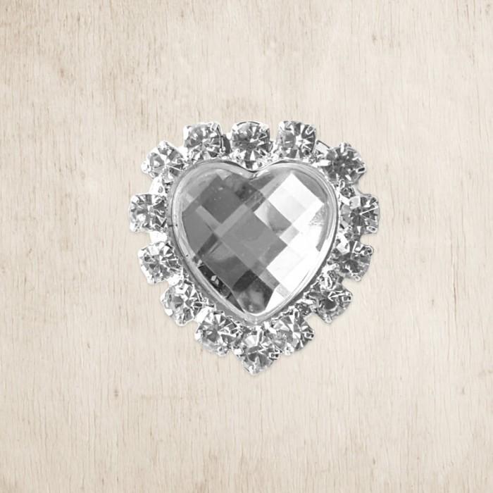 Prague Heart DIY Crystal Embellishment