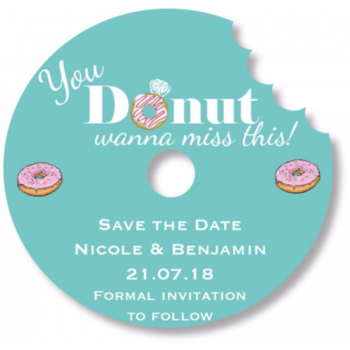 You Donut Wanna Miss This Save the Date Magnet
