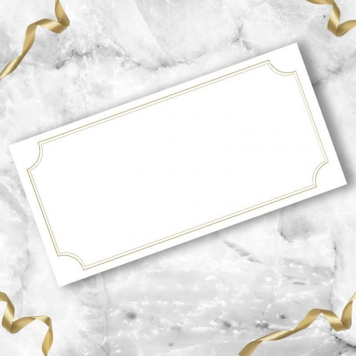 Enchantment Wedding Place Card