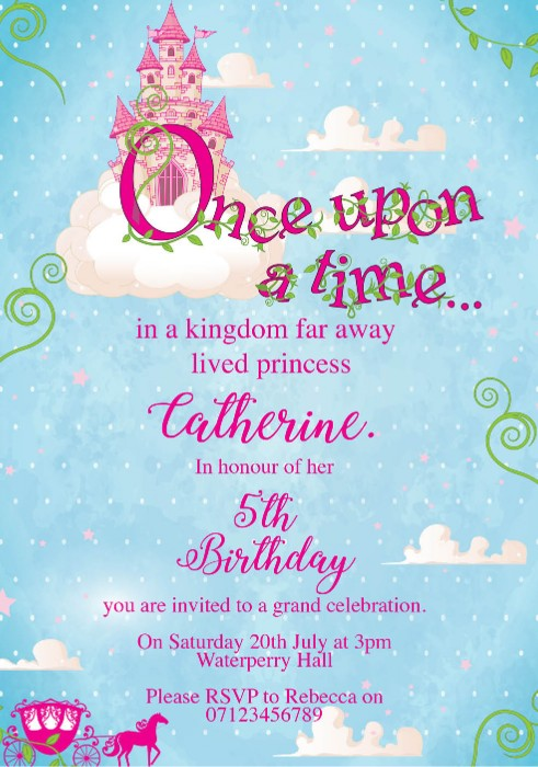 Once Upon A Time Birthday Party Decorations from www.paperthemes.co.uk
