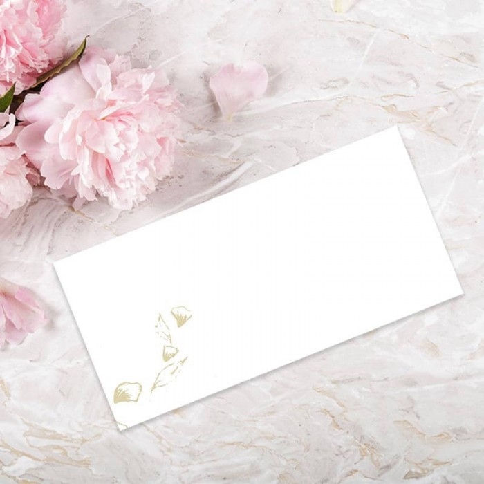 Floral Fantasy Wedding Place Card Paper Themes Wedding Invites