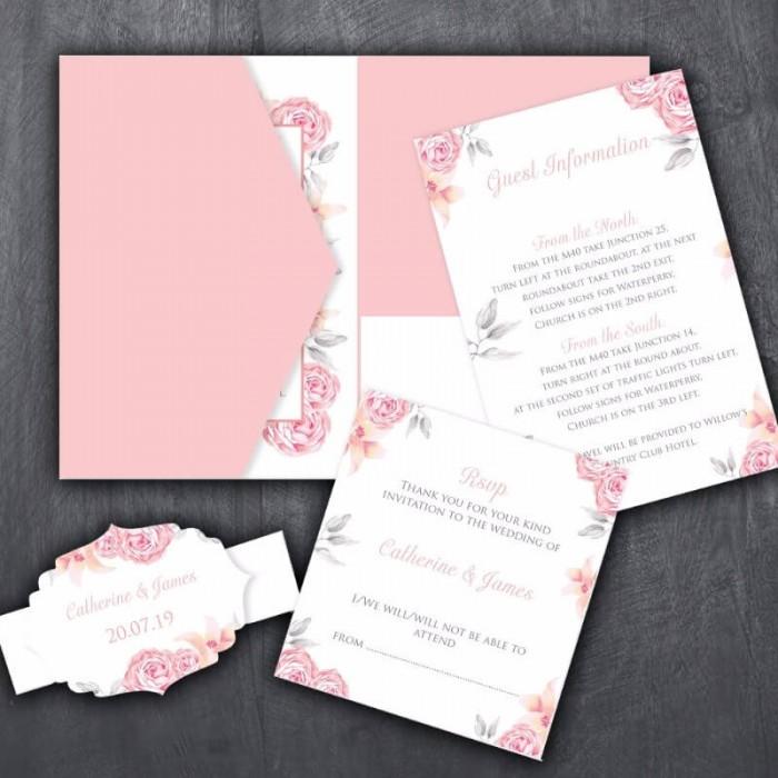 Perfection Wedding Invitation
