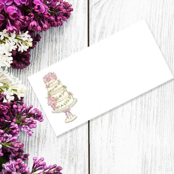 Four Ever Wedding Place Card