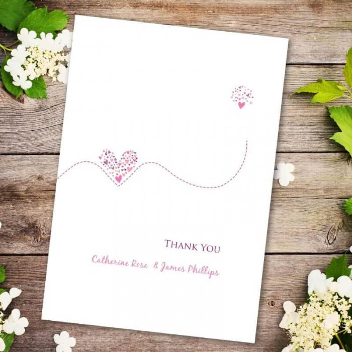 Je Taime Thank You Card