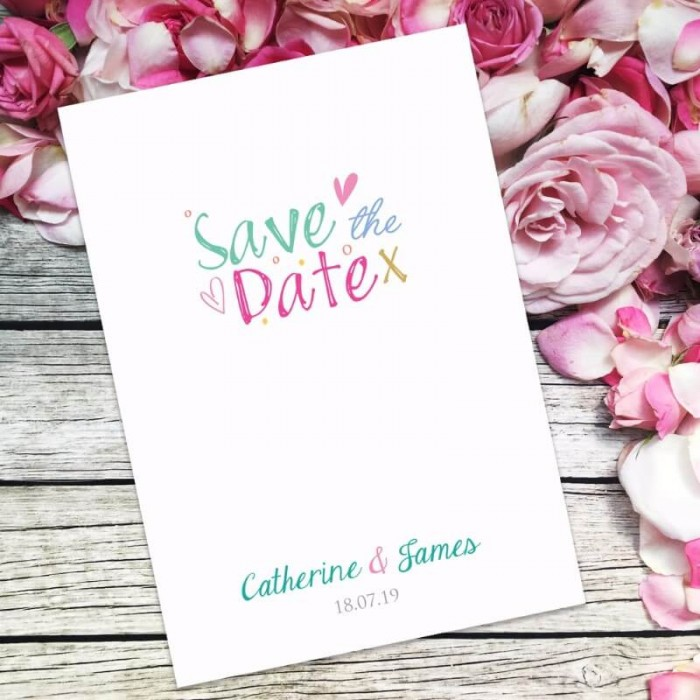 Jubilation Save the Date Card