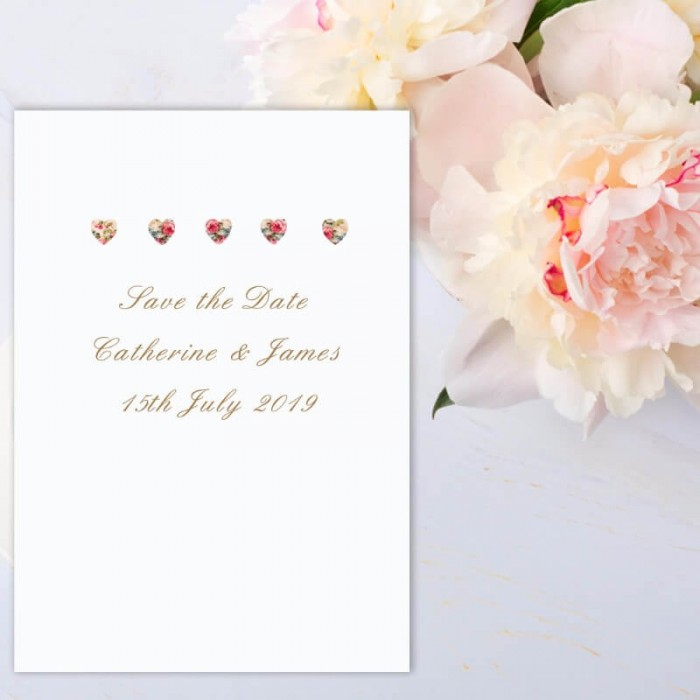 Sweet Inspiration Save the Date Card