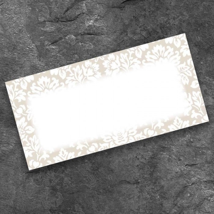 Lustre Wedding Place Card