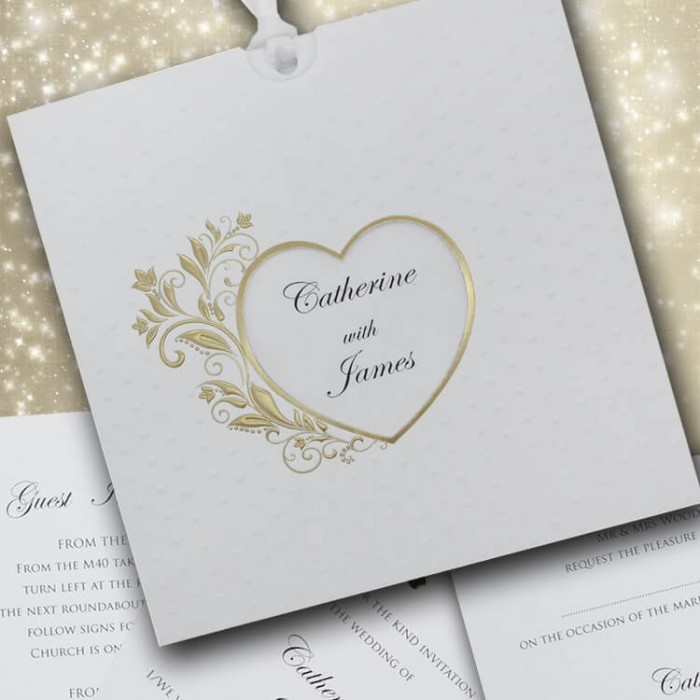 Passion Wedding Invitation