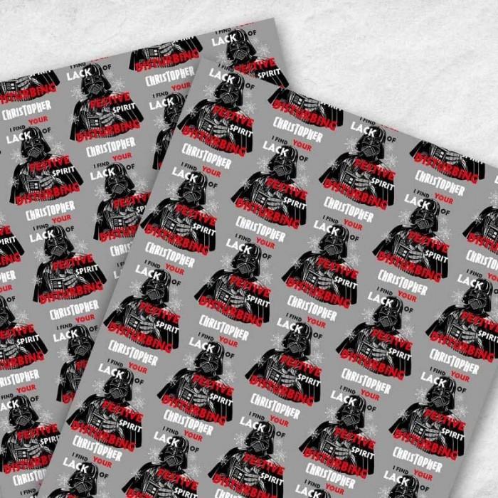 Darth Vader Christmas Gift Wrap