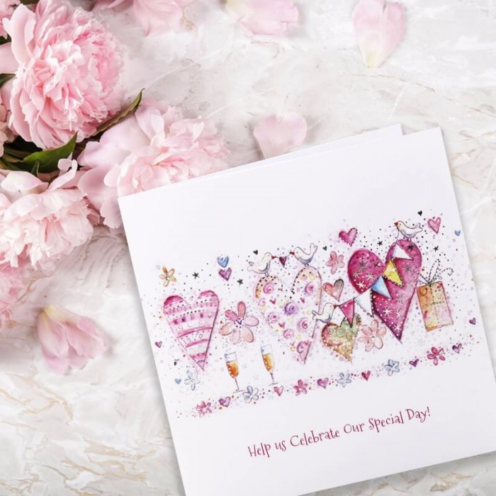 With Love Wedding Invitation