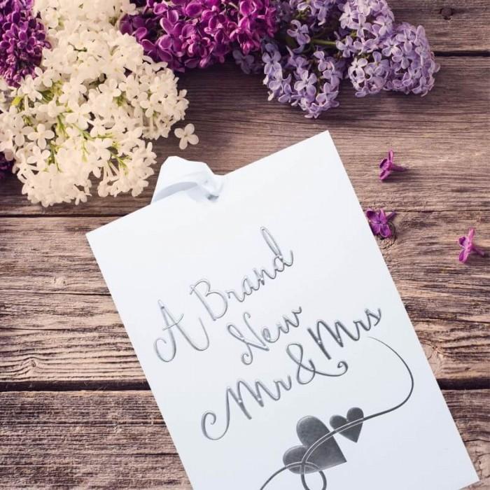 Newlyweds Wedding Invitation