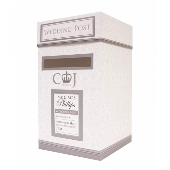 Wedding Gift Post Box: Paper Themes Wedding Invites