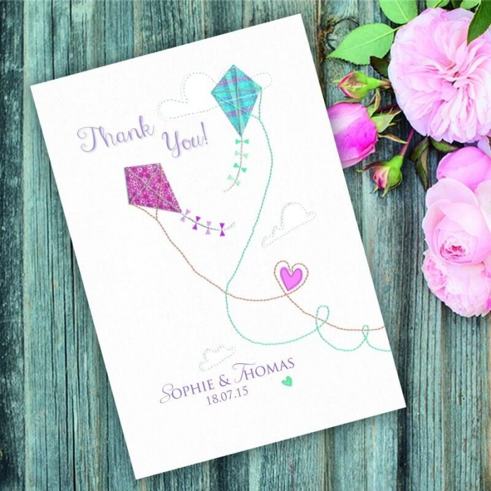 Love Me Tender Thank You Card