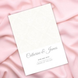 Happiness Damask Order of Service