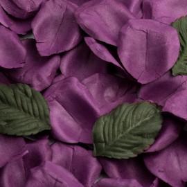 Aubergine Paper Rose Petals