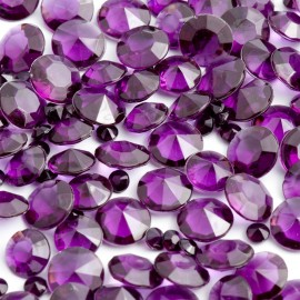 Aubergine Table Crystals - 100g Pack