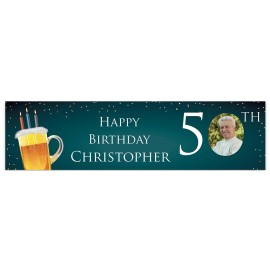 Birthday Beer Welcome Banner