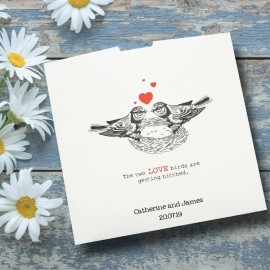 Love Nest Wedding Invitation