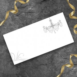 Bride & Groom Wedding Place Card