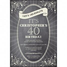 Celebration Birthday Party Invitation