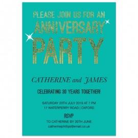 Join Us Wedding Anniversary Invitations