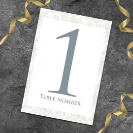 Classical Table Numbers - Pack of 10