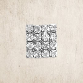 Crystal Square Small DIY Embellishment