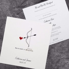 Love Match Wedding Invitation
