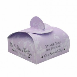 Purple Cupid Favour Box - Pack of 12