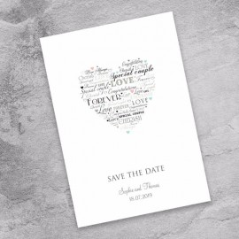 Desire Save the Date Card