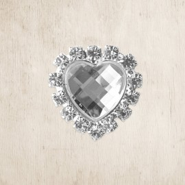 Prague Heart DIY Crystal Embellishment