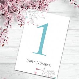 Elegance Table Numbers - Pack of 10