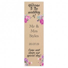 Fantasy Pop-Up Wedding Sign