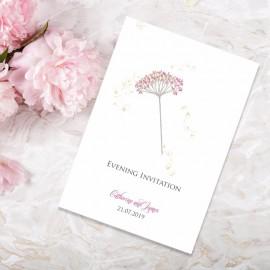 Floral Fantasy Evening Invitation