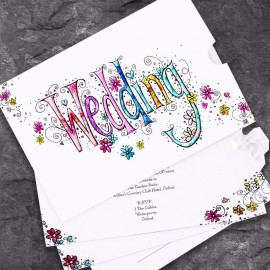 Wedding Bliss Wedding Invitation