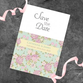 Happy Days Save the Date Card