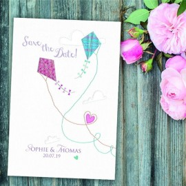 Love Me Tender Save the Date Card