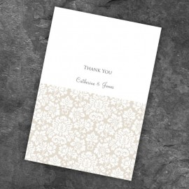 Lustre Thank You Card