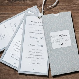 Love Dream Wedding Invitation